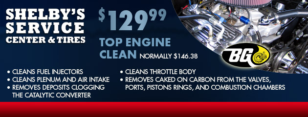 $129.99 Top Engine Clean