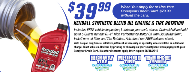 $39.99 Synthetic Blend Oil Change Coupon