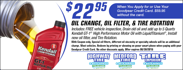 $22.95 Oil Change Coupon