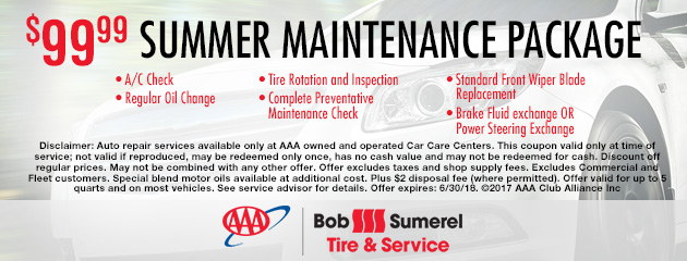 $99.99 Summer Maintenance Package