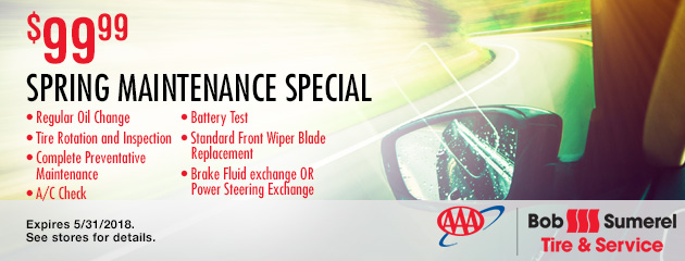 $99.99 Spring Maintenance Special