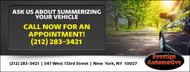 Ask Us About Summerizing Your Vehicle