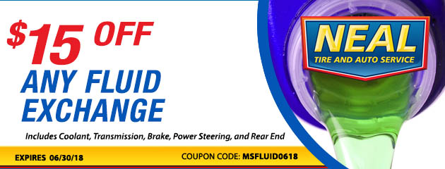 $15 off any Fluid Exchange