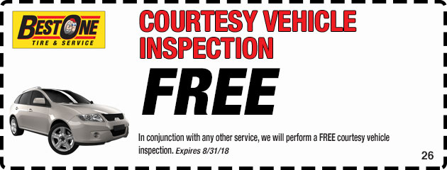 Courtesy Vehicle Inspection