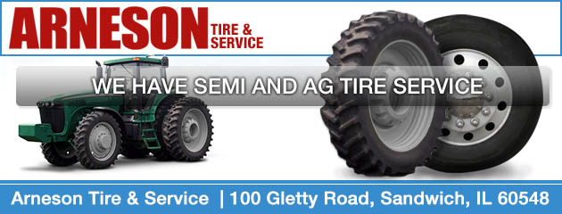 We Have Semi and Ag Tire Service