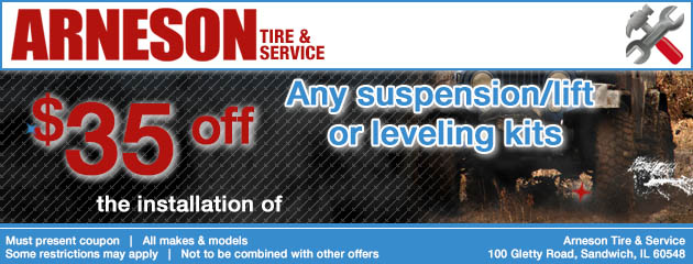 Suspension Lift Kit Special