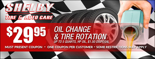 $29.95 Lube Oil Filter and Rotation