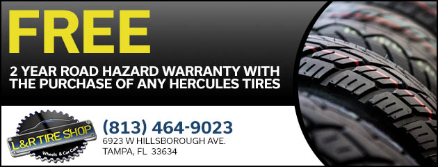Free 2 Year Road Hazard Warranty