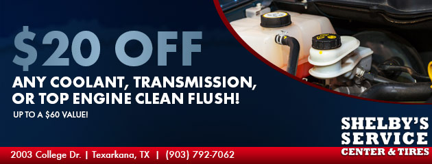 $20 Off Flush Special