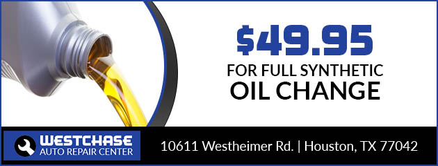 $49.95 Full Synthetic Oil Change