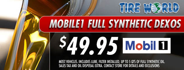 Mobile1 Full Synthetic Dexos - $49.95