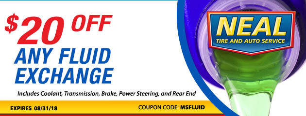 $20 off any Fluid Exchange