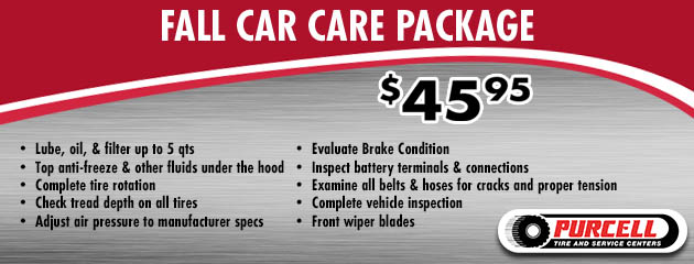 Fall Car Care Special $45.95
