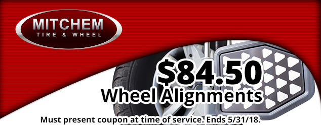 Wheel Alignment Special - $84.50