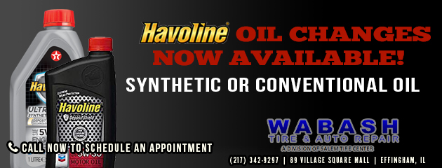 Havoline Oil Changes Now Available!
