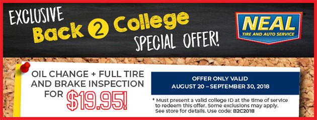 Exclusive Back 2 School Special Offer!