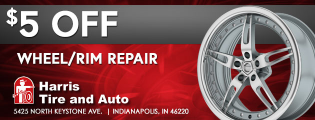 $5 Off Wheel/Rim Repair