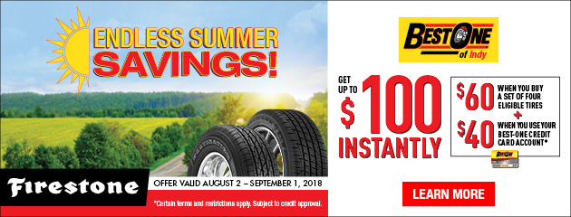 Endless Summer Savings!