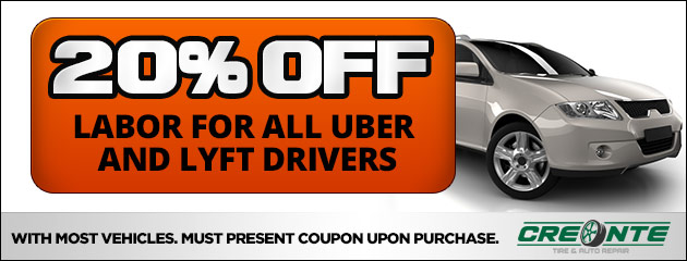 20% Off Labot for all Uber and Lyft Drivers