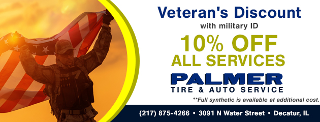 10% Off Services for Veterans