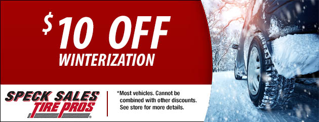 $10 Off Winterization