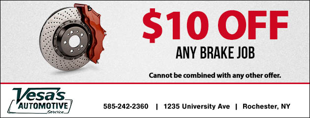 $10 Off Any Brake Job