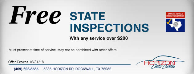 Free State Inspection