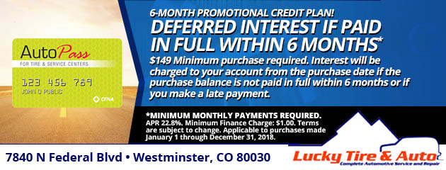 6-Month Promotional Credit Plan