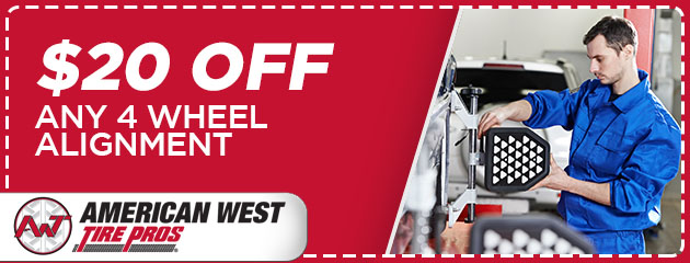 $20 Off Any 4 Wheel Alignment
