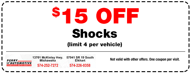 $15 off Shocks