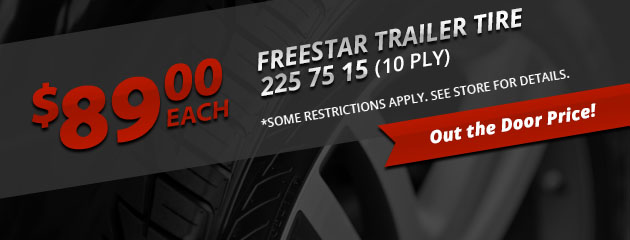 Freestar Trailer Tire Special