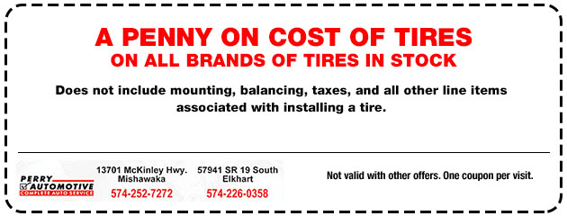 A Penny on Cost of Tires