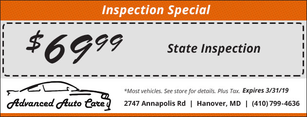 $69.99 State Inspection