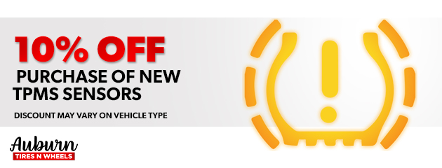 10% Off Purchase of New TPMS Sensors