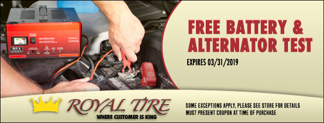 Free Battery and Alternator Test
