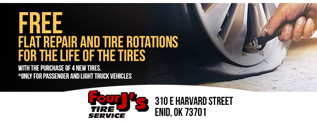 Free FlatRepair & Tire Rotations