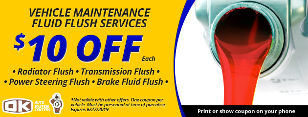 Fluid Flush Services Special