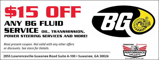 BG Products Suwanee, GA | Performance Tire and Auto