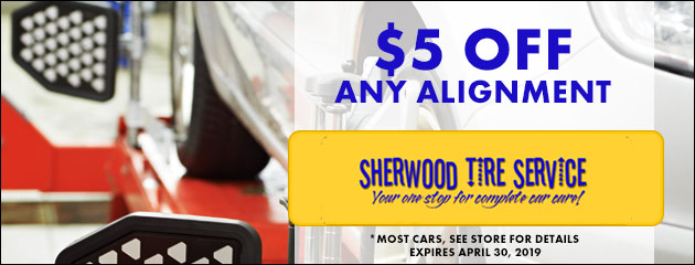 $5.00 off any alignment