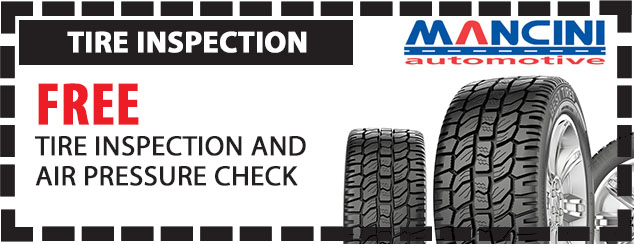 Free Tire Inspections and Air Pressure Check