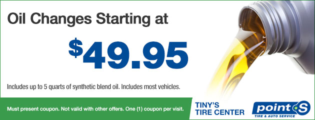 Oil Changes Starting at $49.95