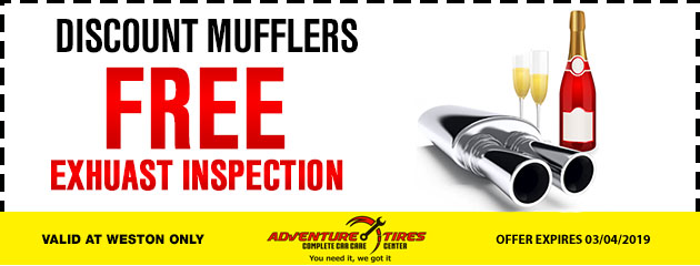 Free Exhaust Inspection