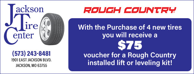 $75 Rough Country Voucher