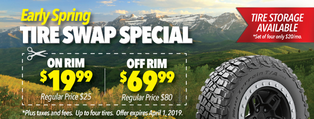 Early Spring Tire Swap