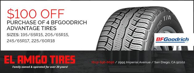 Amigos Tire Shop >> El Amigo Tires Auto Repair Tires In San Diego Ca And Kearney