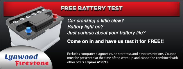 Free Battery Test Special