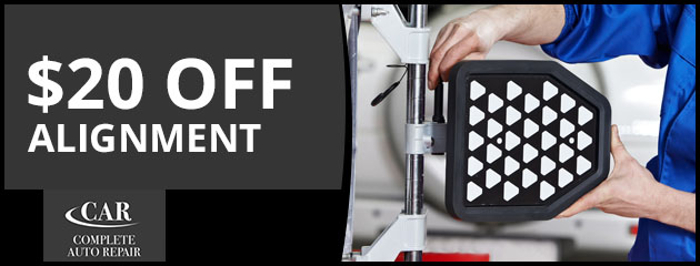 $20.00 OFF Alignment