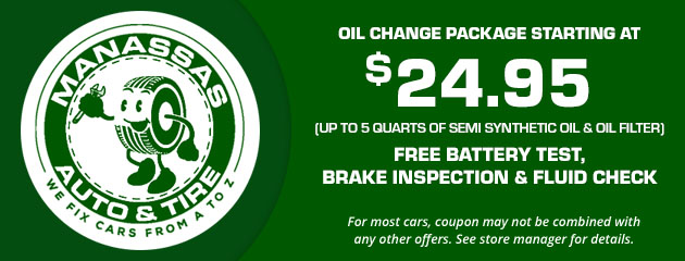 Oil Change Package