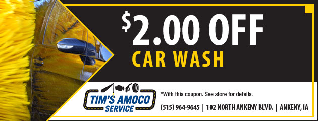 $2 Off A Car Wash Special