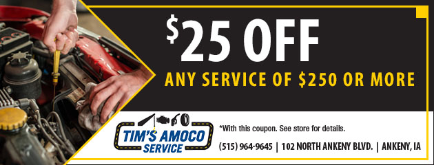 $25 Off Any Service of $250 or More